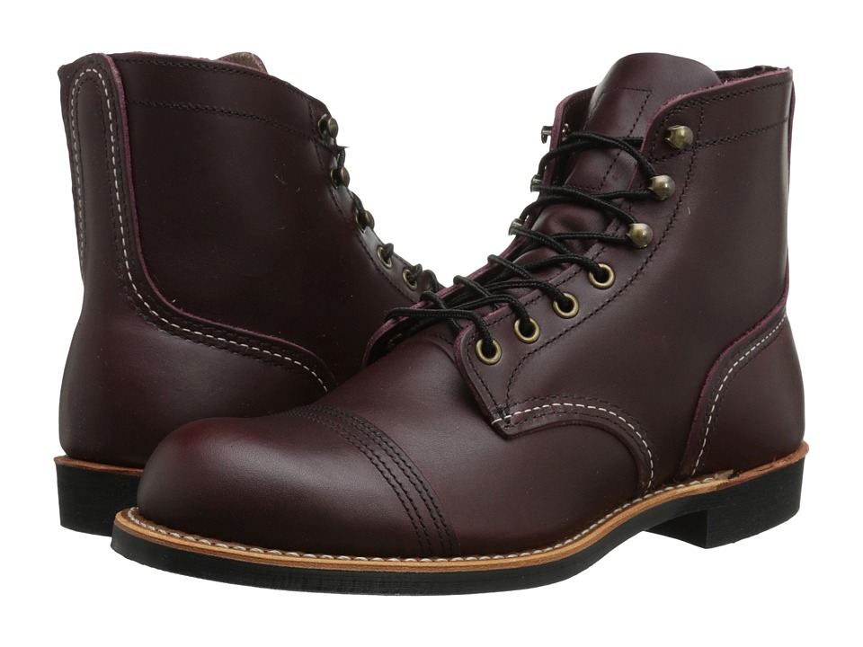 Red Wing Heritage - 6 Iron Ranger Lug (Oxblood Mesa) Mens Lace-up Boots