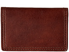 Bosca Dolce Collection Calling Card Case (Dark Brown)