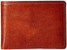 Bosca Dolce Collection Credit Card Wallet w/ ID Passcase (Amber)