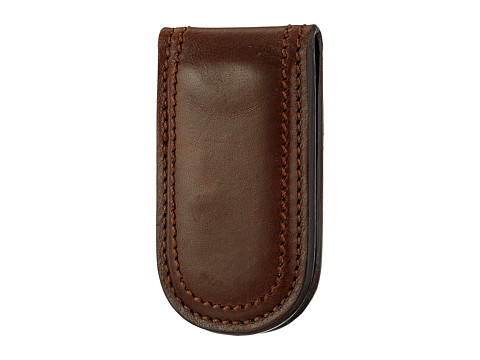 Bosca Dolce Collection - Money Clip - Dark Brown