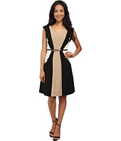 rsvp - Valerie Sleeveless Belted Pleated Dress