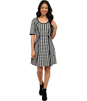 rsvp - Macy Houndstooth Sweater Dress