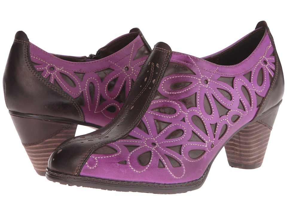 Spring Step Arabella Purple Womens Shoes