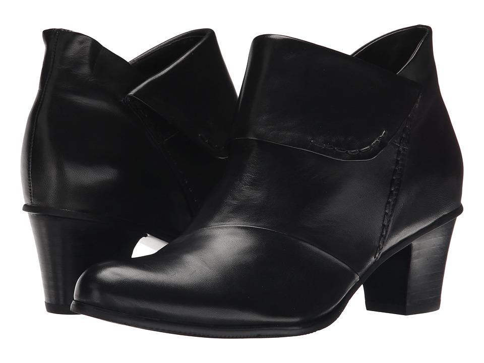 Spring Step Azzuro Black Womens Shoes