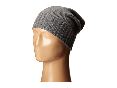 Hat Attack Cashmere Slouchy - Charcoal 1