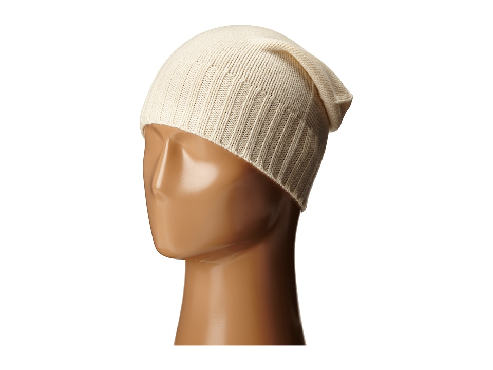 Hat Attack Cashmere Slouchy Ivory 1 Beanies