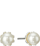 LAUREN by Ralph Lauren - 6mm Prong Set Pearl Stud Earrings