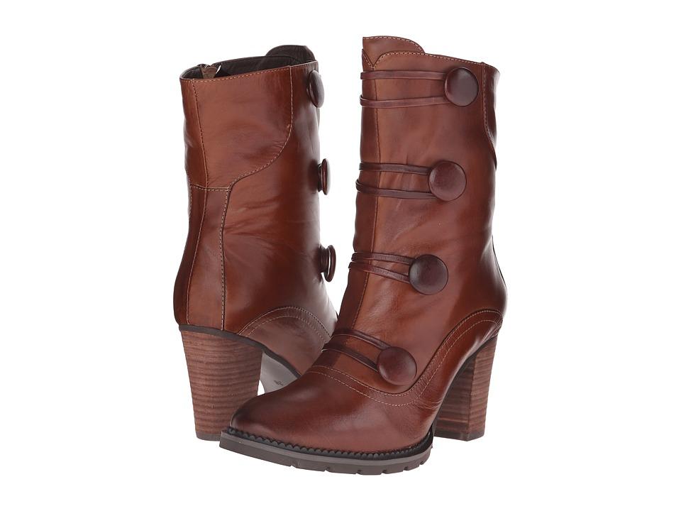 Spring Step Brentbrook Medium Brown Womens Shoes
