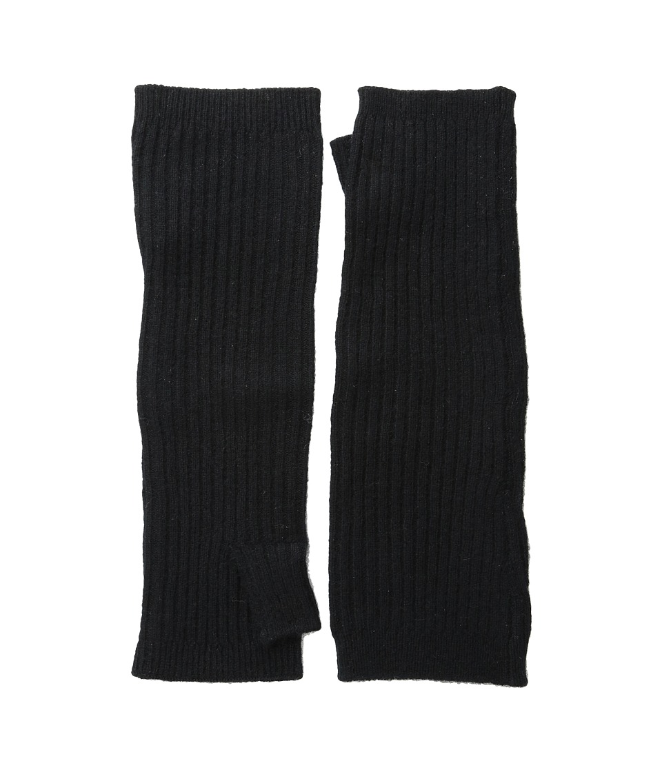 Hat Attack Cashmere Arm Warmer (Black) Extreme Cold Weather Gloves