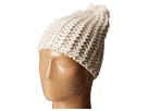 Hat Attack Chevron Knit Skully (Ivory)