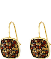 LAUREN Ralph Lauren - Pave Cushion Drop Earrings