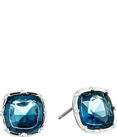 LAUREN by Ralph Lauren - Faceted Cushion Stud Earrings