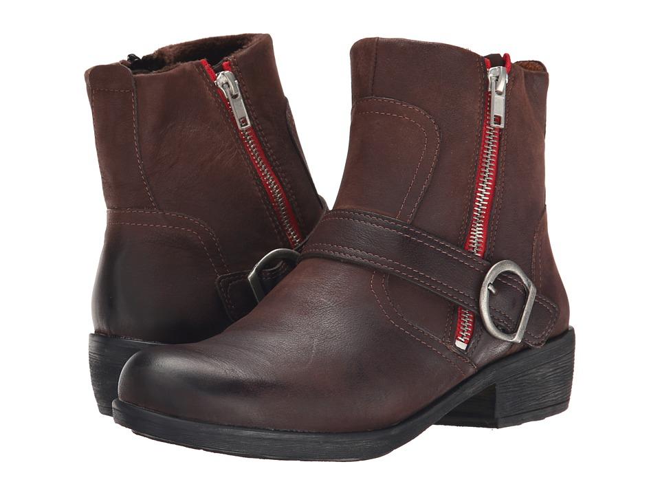 Spring Step Chickadee Medium Brown Womens Shoes