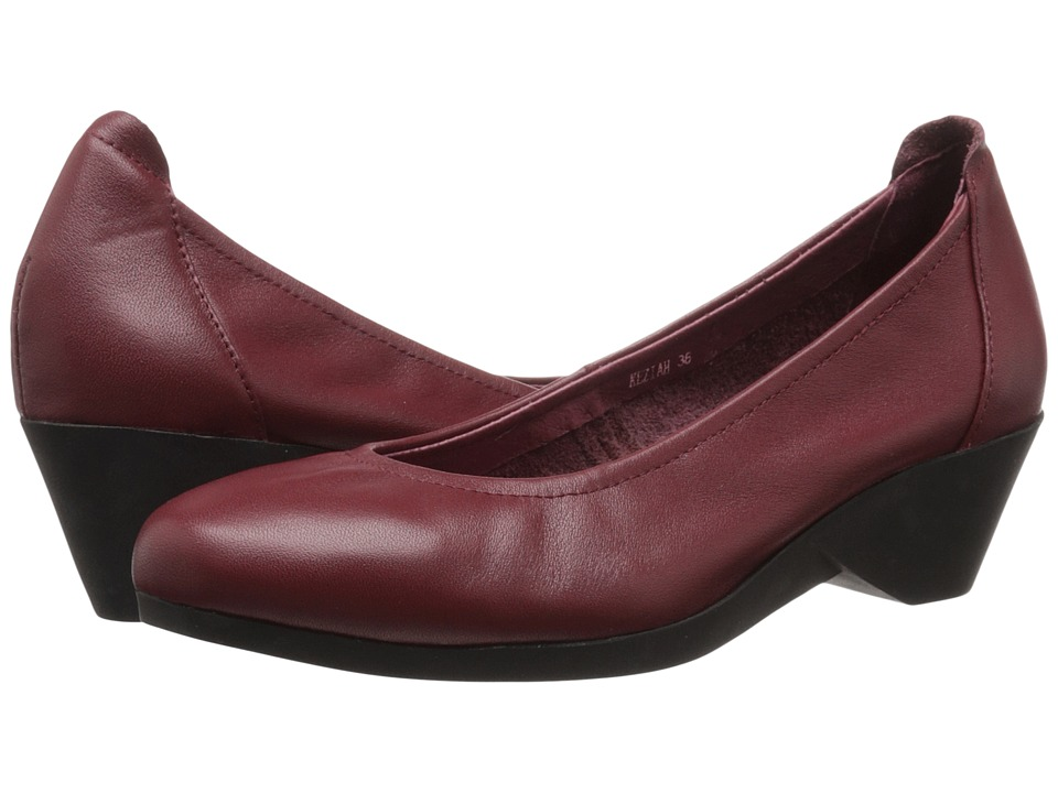 Spring Step Keziah Cabernet Womens Shoes