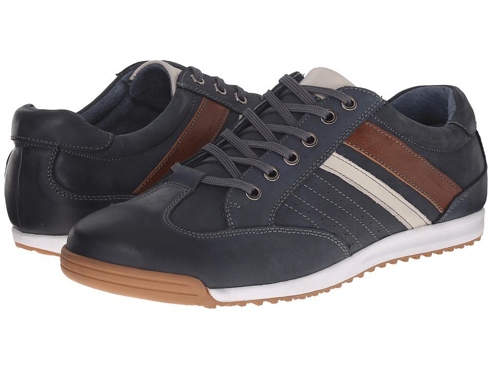 Spring Step Phenomenal Navy Mens Shoes