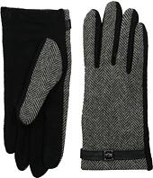 LAUREN Ralph Lauren - Herringbone Logo Cube Touch Glove