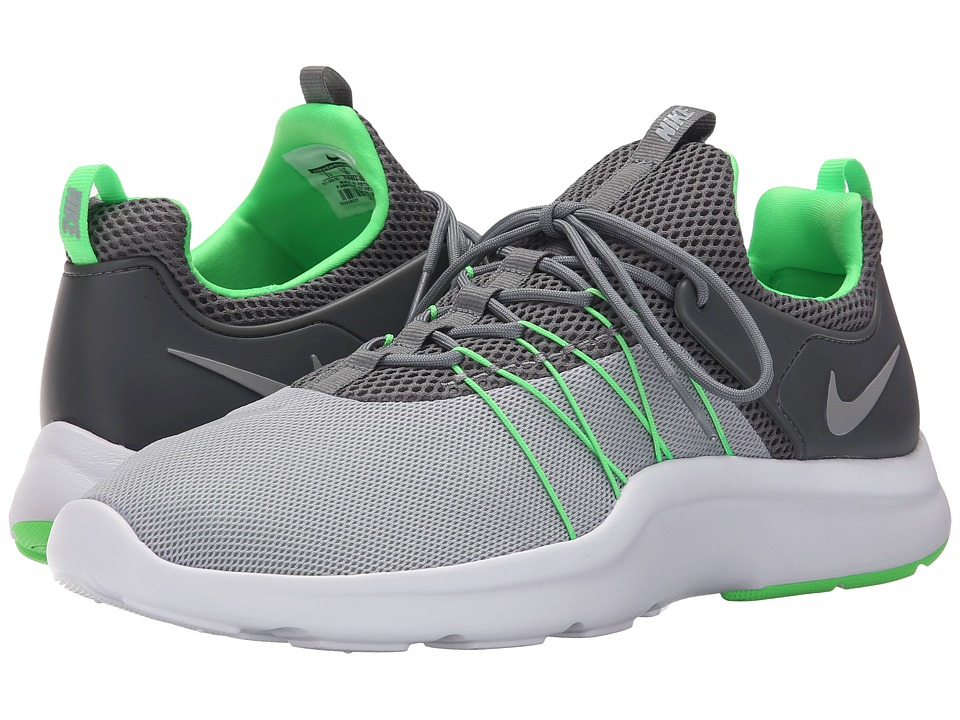 Nike Darwin Wolf Grey/Cool Grey/Rage Green/Wolf Grey Mens Running Shoes