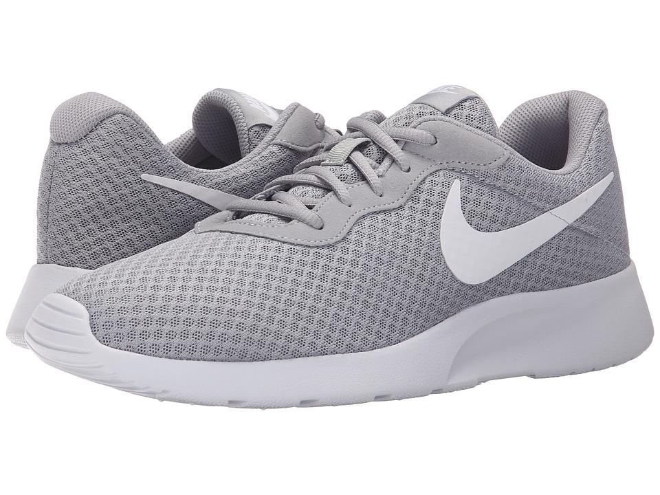 Nike - Tanjun (Wolf Grey/White) Mens Running Shoes