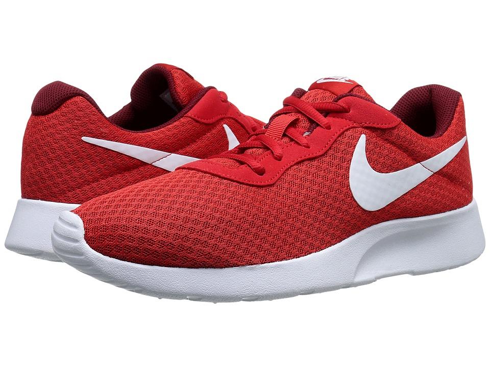 Nike - Tanjun (University Red/Team Red/White) Mens Running Shoes