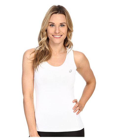 ASICS Club Tank Top - Real White