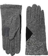 Echo Design - Touch Mixed Metallic Boucle Gloves