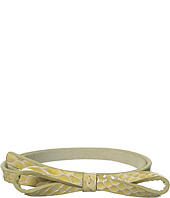Lodis Accessories - Huron Snake Skinny Bow Waist Belt