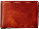 Bosca Dolce Collection Small Bifold Wallet (Amber)