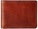 Bosca Dolce Collection 8-Pocket Deluxe Executive Wallet (Amber)