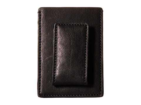 Bosca Washed Collection - Deluxe Front Pocket Wallet - Black