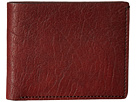 Bosca Washed Collection 8-Pocket Deluxe Executive Wallet (Dark Brown)