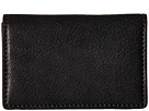 Bosca Washed Collection Full Gusset Card Case (Black)