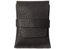 Bosca Washed Collection Envelope Card Case (Black)