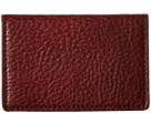 Bosca Washed Collection Full Gusset Card Case (Dark Brown)