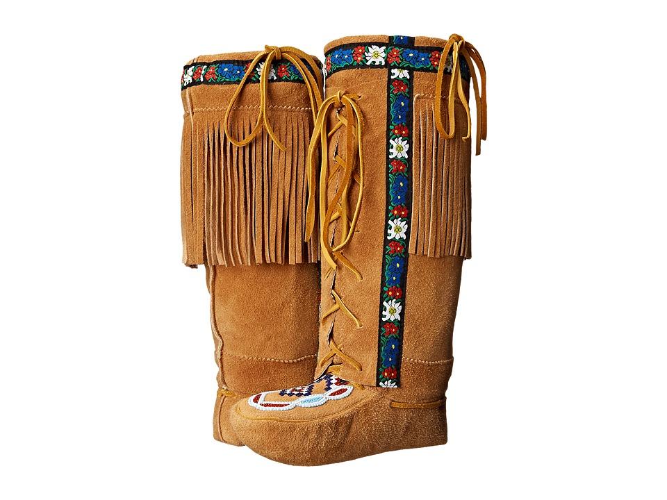 Manitobah Mukluks Annie Mckay Mukluks Tan Womens Boots