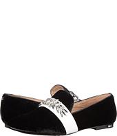 Yosi Samra - Pippa Luxe Velvet Slipper with Rhinestone Embellishment