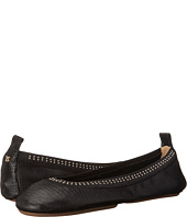 Yosi Samra - Samara Lagarto Leather Fold Up Flat with Stud Detail
