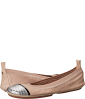 Yosi Samra - Sybil Soft Leather Fold Up Flat with Scaled Specchio Captoe
