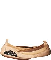 Yosi Samra - Samantha Soft Leather Fold Up Flat with Fully Stud Captoe