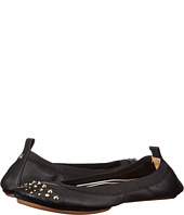 Yosi Samra - Samantha Soft Leather Fold Up Flat with Fully Stud Captoe