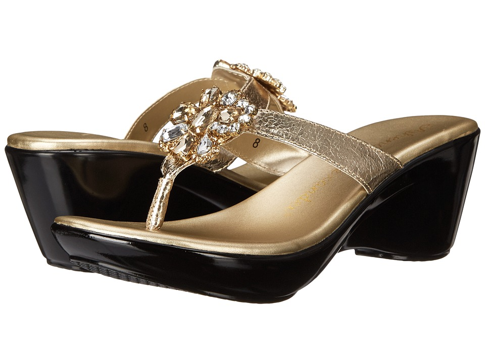 Shop Athena Alexander online and buy Athena Alexander Anita Gold Womens Sandals shoes online