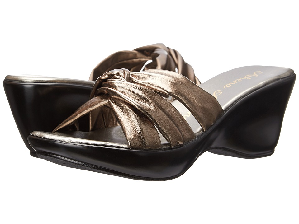 Athena Alexander Gayle Pewter Womens Dress Sandals