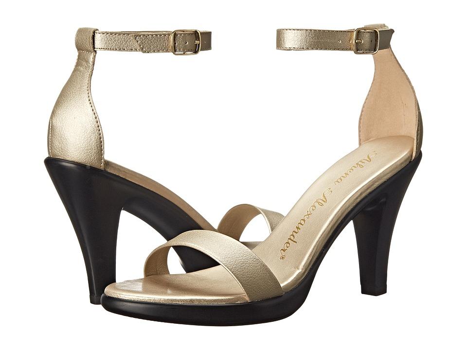 Athena Alexander Hart Gold Womens Shoes