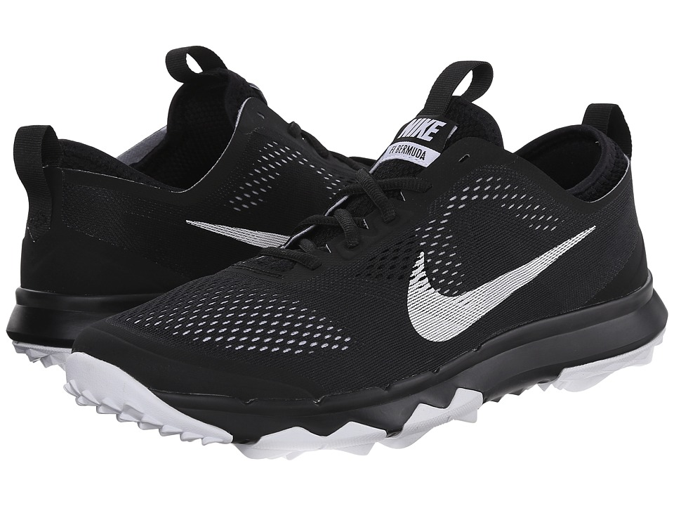 Nike Golf - FI Bermuda (Black/White/White) Men