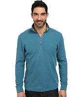 Robert Graham - Skyjammer Long Sleeve Solid Zip Mock