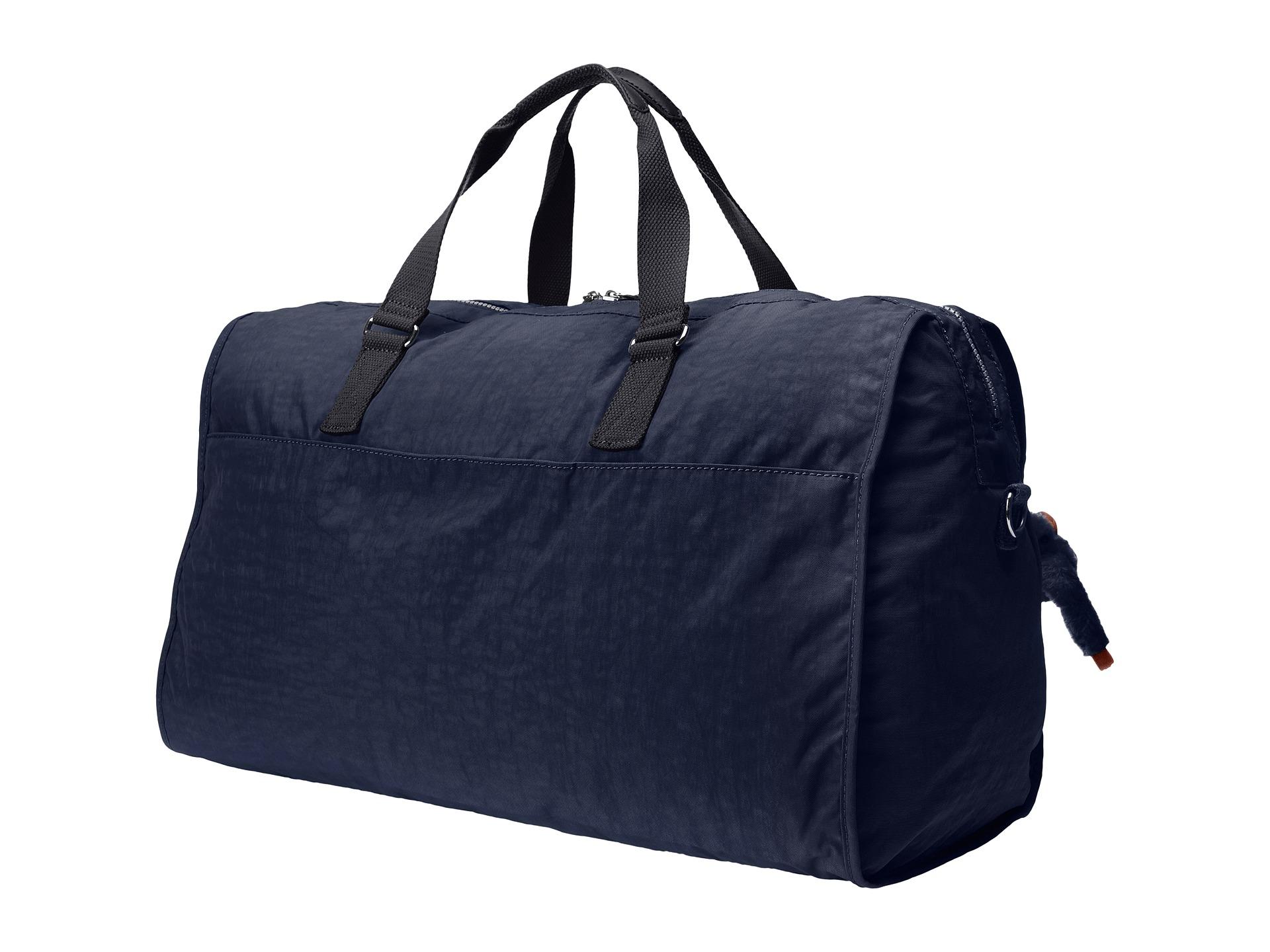 kipling itska duffel bag true blue zappos free
