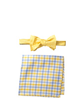 Tommy Hilfiger - Dot and Gingham Bowtie & Pocket Square Set