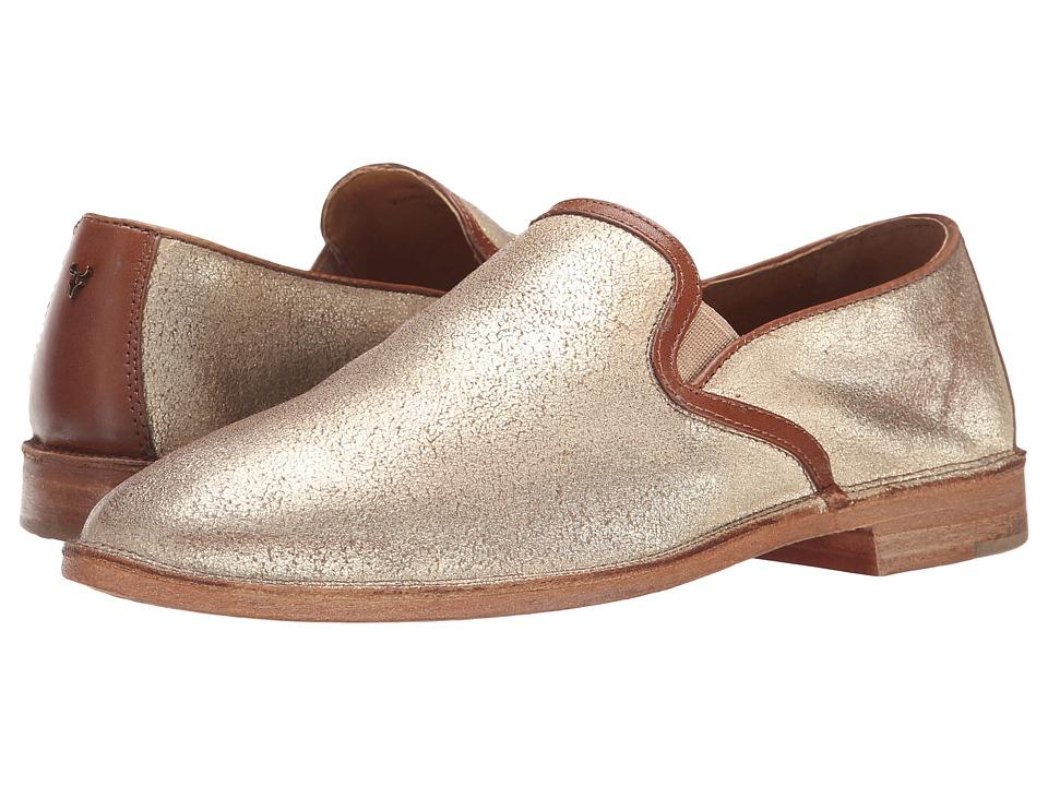 Trask Ali Gold Italian Brush Off/Teak Calf Womens Shoes