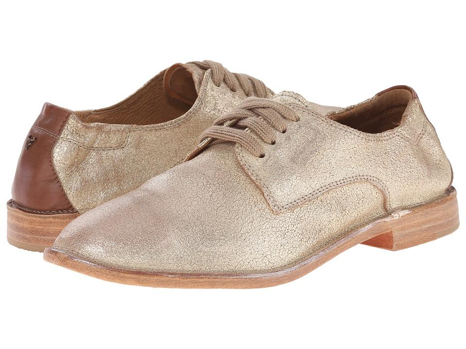 Trask Ana Gold Italian Brush Off/Teak Calf Womens Shoes