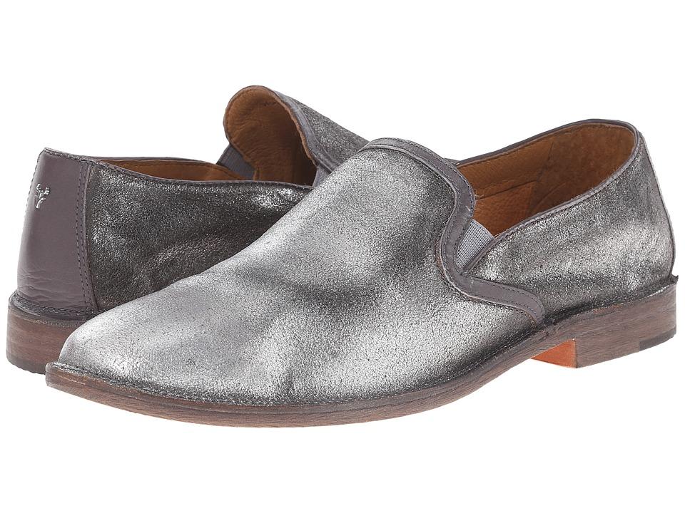 Trask Ali Silver Italian Brush Off/Gray Calf Womens Shoes