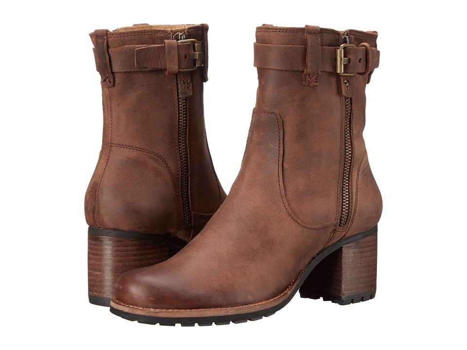 Trask Madison (Dark Brown Oiled Calfskin) Women